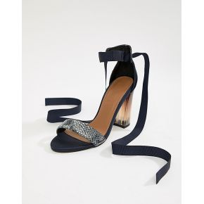 Femme asos white - iris - sandales à talons -...