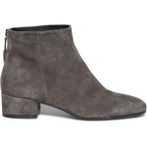 Boots rétro gris en cuir velours gris eram