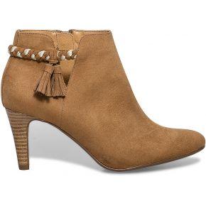 Boots cut out pompons camel camel eram