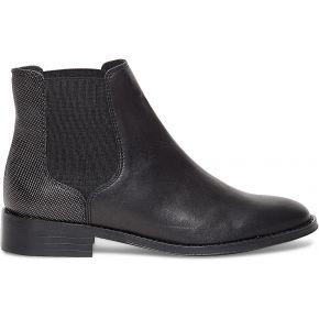 Chelsea boots noir cuir noir eram