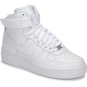 Baskets montantes air blanc nike
