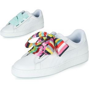 Baskets basses heart blanc puma
