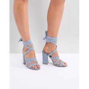Femme asos design - halliwell - sandales à gros...