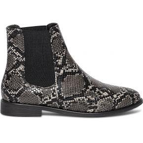 Chelsea boots gris effet python imprime eram