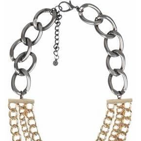 Collier filli pieces dore