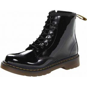 Dr. martens delaney, boots mixte enfant - noir...