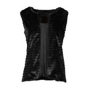 Les legging cuissardes wtf de tamara mellon - Gilet fausse fourrure noir ...