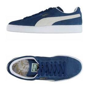 Sneakers & tennis basses puma femme. bleu-gris....