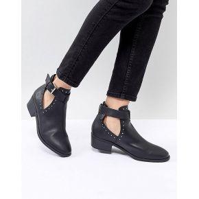 Femme asos design - ace - bottines cloutées...