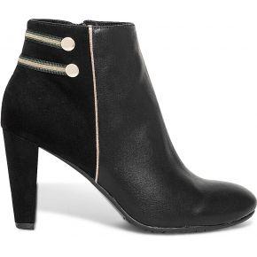 Boots noir à galons noir eram