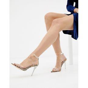 Femme simmi london - sandales effet serpent...