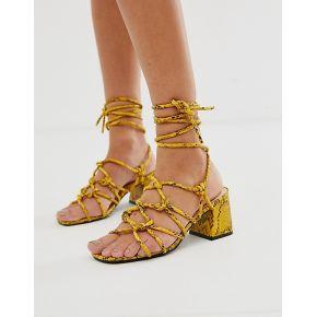 Femme public desire - freya - sandales façon...