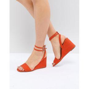Femme asos design - holt - sandales plateforme...