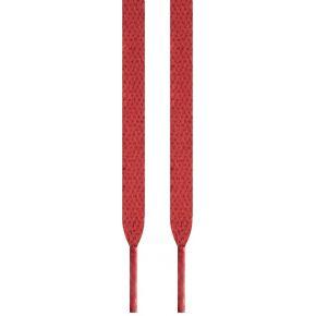 Lacets plats rouges 115 cm
