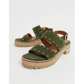 Femme asos design - fenrick - sandales plates...