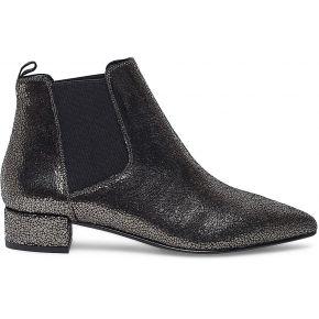 Chelsea boots cuir gris craquelé