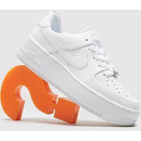 Nike air force 1 sage femme, blanc