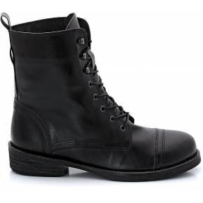 Boots plates à lacets. jonak noir