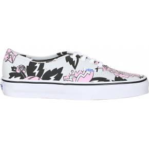 Sneakers toile imprimées fleurs authentic - vans