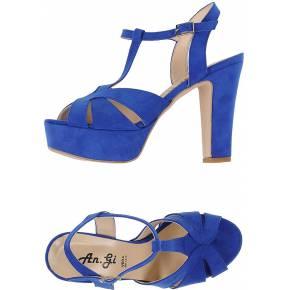 Sandales an.gi femme. bleu électrique. 36 - 37...