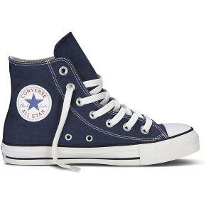 Chaussures basic haute toile fem marine....