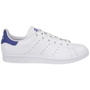 Chaussures stan smith white/blue h16 - adidas...
