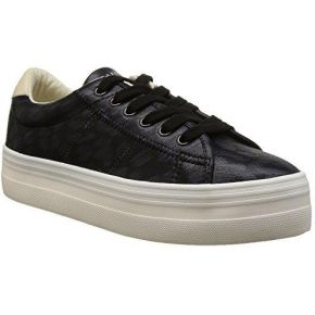 No name plato, sneakers basses femme, noir...