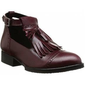 Jonak 225 2432 cu h4, boots femme - rouge (cuir...