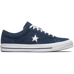 Baskets basses one star og mixte bleu converse