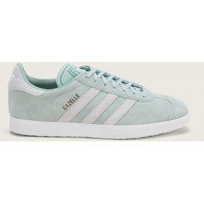 Sneakers en cuir suède gazelle w vert menthe -...