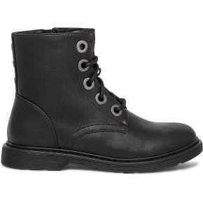 Boots noir à gros oeillets noir eram