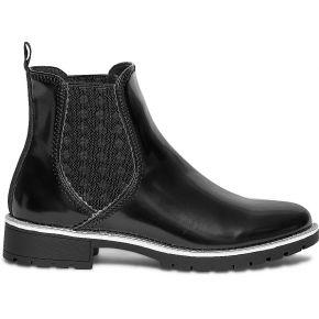 Chelsea boots noir à trépointe pailletée noir...