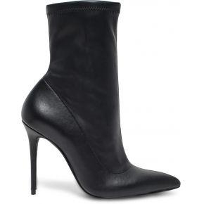 Bottine chaussette noire à talon aiguille noir...