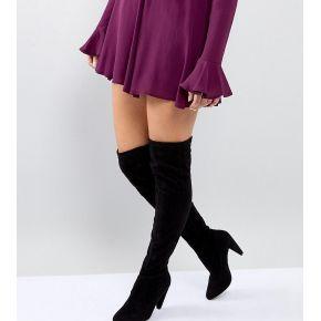 Femme new look wide fit - cuissardes à talons...