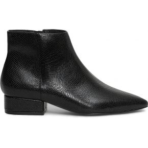 Boots noir embossé python noir eram