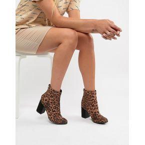 Femme new look - bottines à gros talons et...