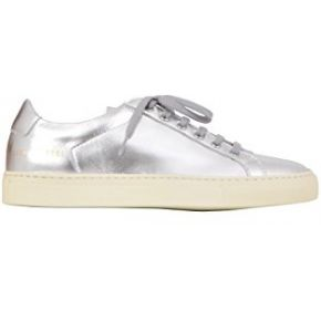 Common projects femme 38390509 argent cuir baskets