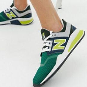 Femme new balance 247 - baskets pop - jaune -...