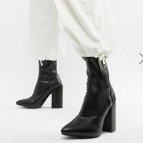 Femme public desire - renzo - bottes ajustées à...