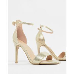 Femme new look - sandales à talon en 2 parties...