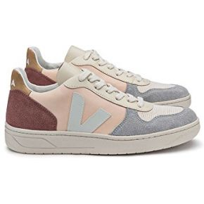 Veja - baskets v10 leather couleur - multico...
