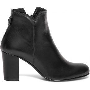 Boots talon noir en cuir personnalisable noir eram