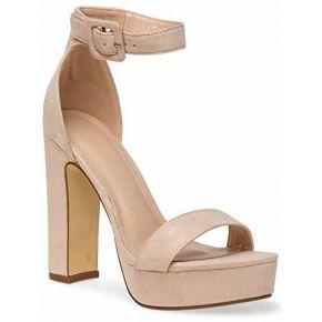 Caspar sbu018 sandales compensées à talon pour...