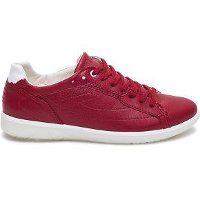 Tennis tbs cuir rouge rouge tbs
