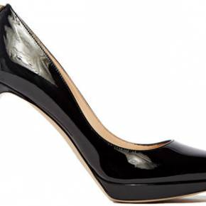 Valentino patent leather heeled pump