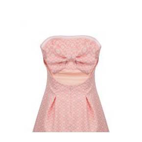 Robe bustier pop