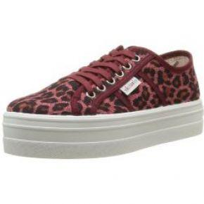 Victoria blucher leopardo plataforma, baskets...