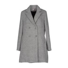 Manteau long twenty easy by kaos femme. gris. l...