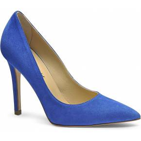 Escarpins femme. evita shoes bleu royal