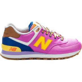 Baskets mode femme - new balance - rose